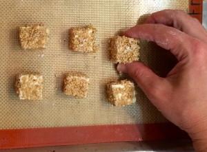 Sesame Tofu Bites to Bake