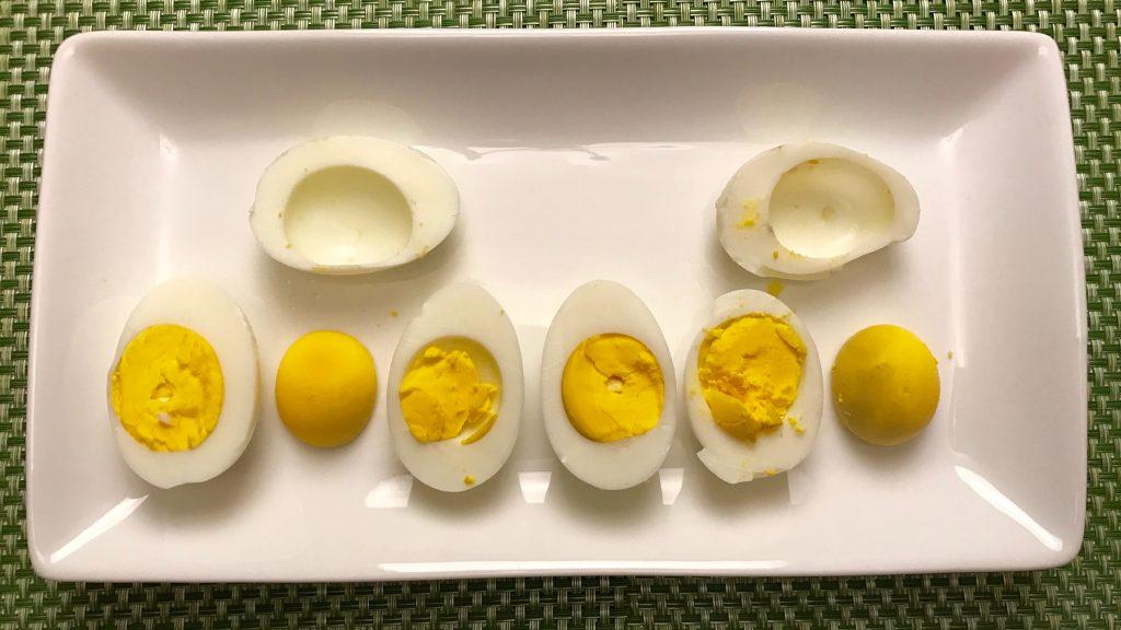 The Easiest Hardboiled Eggs